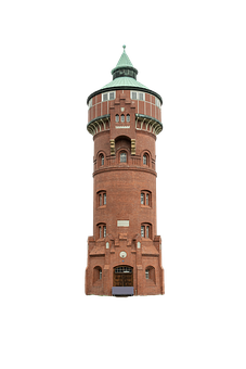 Tower, Building, Castle, Facade, Industry, Architecture