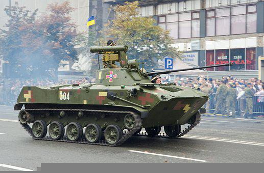 Machinery, Army, Parade, Military, Ukrainian, Capital