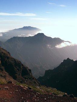 Mountains, Clouds, Peak, Summit, View, Mountain View
