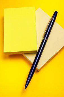 Pen, Paper, Note, Office, Document, Writing, Business