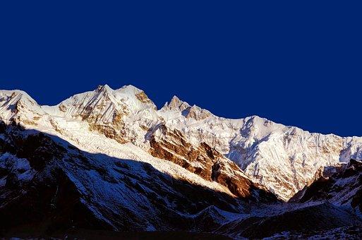 Mountain, Peak, Snow, Summit, Landscape, Countryside