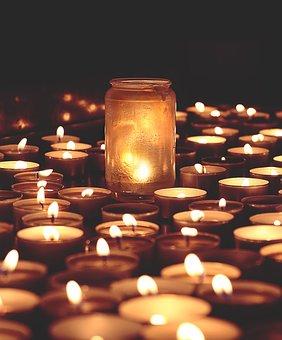 Candles, Flames, Candlelight, Tea Lights, Faith