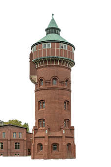 Tower, Castle, Building, Industry, Architecture