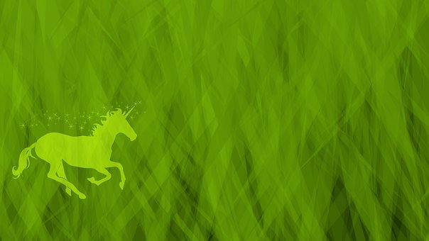 Horse, Unicorn, Background, Wallpaper
