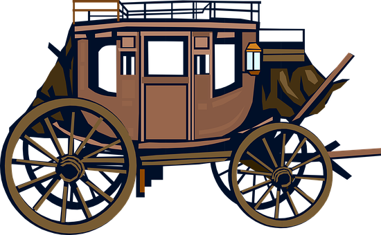 Carriage, Wagon, Medieval, Vehicle