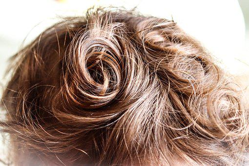 Baby Hair, Curly, Blond, Spiral, Gold, Silky, Growth