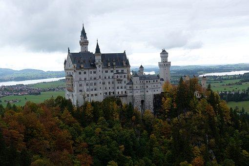 Castle, Palace, Building, Fairy Tale Castle, Fortress