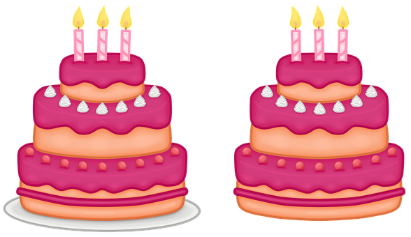 Cakes, Pastry, Food, Birthday Cakes, Candles