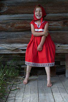 Girl, Little Red Riding Hood, Costume, Character