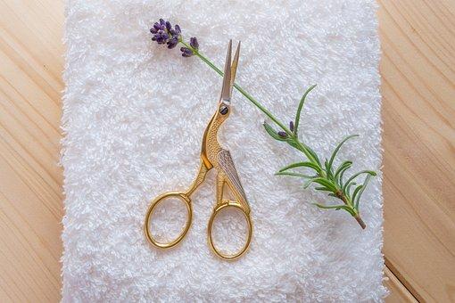 Scissors, Stork Scissors, Umbilical Clamp, Midwife
