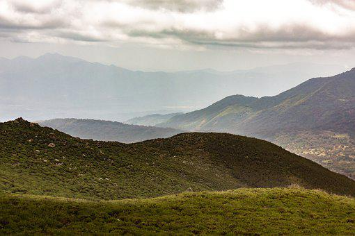 Mountains, Mountain Range, Landscape, Mountainous
