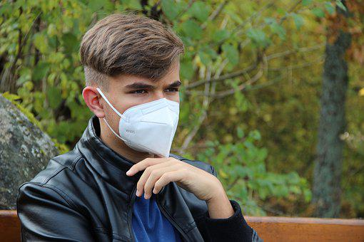 Boy, Face Mask, Young, Pandemic, Student, People, Park