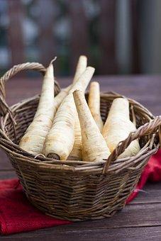 Parsnip, Root Vegetables, Parsley Root, Vegetables