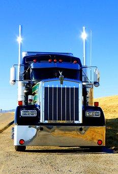Truck, Transport, Vehicle, Road, Logistics, Tractor