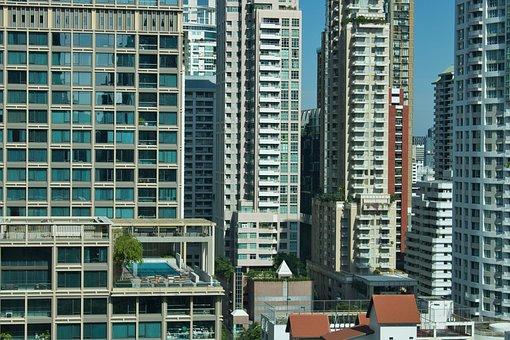Buildings, City, Skyline, Urban, Urban Landscape