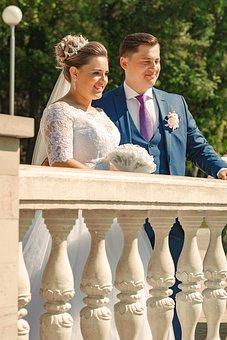 Wedding, Groom, Bride, Newlyweds, Love, Bride And Groom