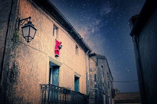 Santa Claus, Santa, Nicholas, Christmas, Advent, Gifts