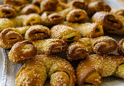 Bread, Food, Snack, Baked, Greek Food, Traditional Food