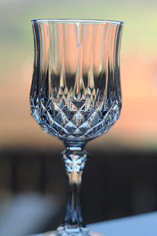 Glass, Crystal, Table, Drink, Modern, Reflection