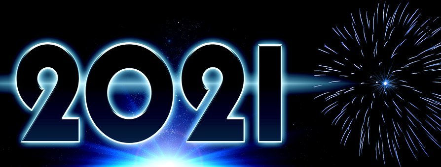 New Year's Eve, 2021, Fireworks, New Year's Day, Planet