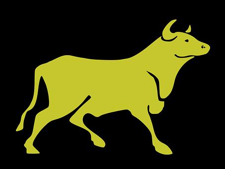 Bull, Strong, Power, Alarming, Torreros, Black Power