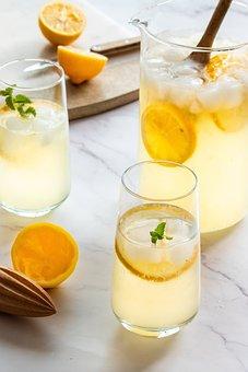 Lemonade, Lemon, Juice, Drink, Fruit, Citrus
