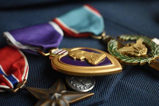 Medals, Prize, Achievement, Goal, Decorations, Heart