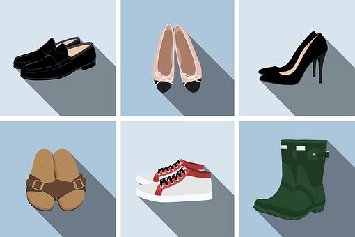 Shoes, Footwear, High Heels, Boots, Sandals, Sneakers