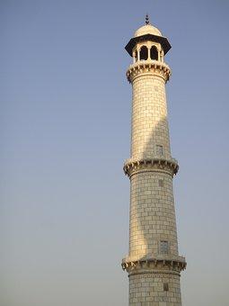 Minaret, Tower, Islam, Muslim, Stoneworks, Masonry