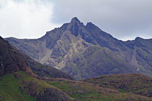 Mountains, Landscape, Summit, Peak, Mountain Range