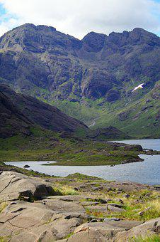 Mountains, Lake, Countryside, Mountain Range, Scenery