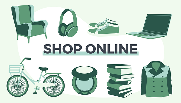 Online Shop, Online Shopping, Shopping Items