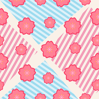 Sakura Flowers, Flowers, Sakura, Floral, Pastel Colors