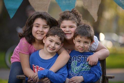 Children, Childhood, Friends, Smile, Joy, Happinness