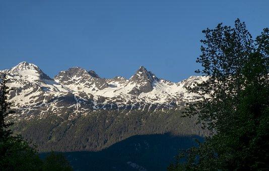 Alaska, Mountains, Snow, Landscape, Nature, Scenic