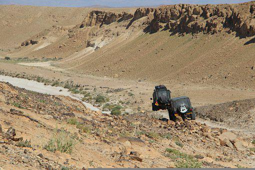 Offroad, Desert, Jeep, 4x4, Adventure, Nature
