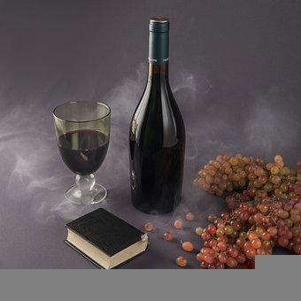 Wine, Grapes, Still Life, Drink, Beverage, Alcohol