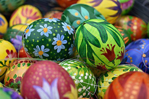 Eggs, Easter, Easter Eggs, Colorful, Spring