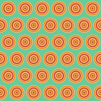 Circles, Circular, Pattern, Shapes, Wallpaper