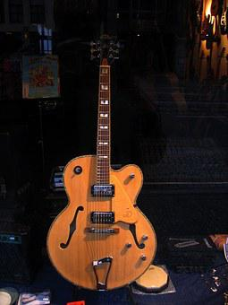 Guitar, Window, Musical Instrument, Acoustic Guitar