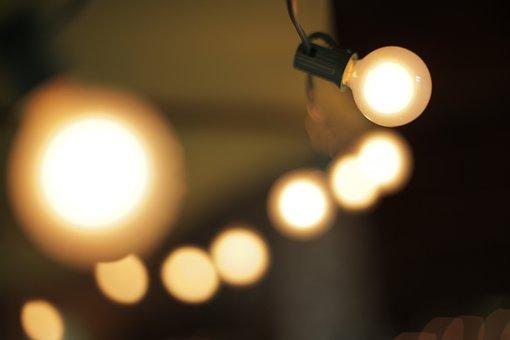 Light, Light Bulb, Lamp, String Light, Bulb