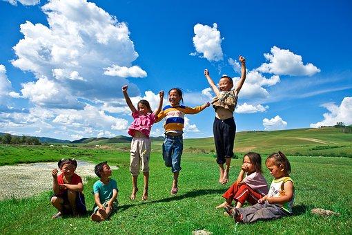 Children's, Children, Asian, Man, Children Playing, Boy