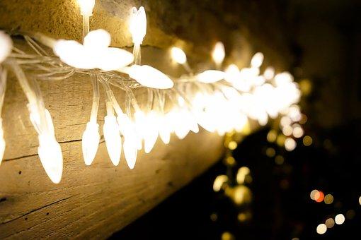 Lights, Christmas, Christmas Lights, Xmas, Tree