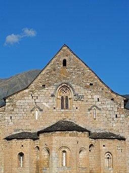 Church, Apse, Tredós, Val D'aran, Romanesque, Gothic