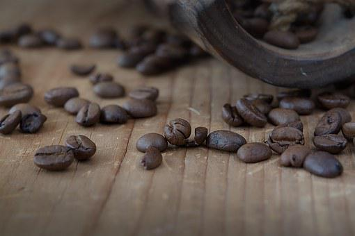 Coffee, Coffee Beans, Roasted, Brown, Dark