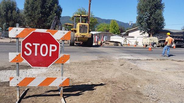 Construction, Road, Road Construction, Equipment
