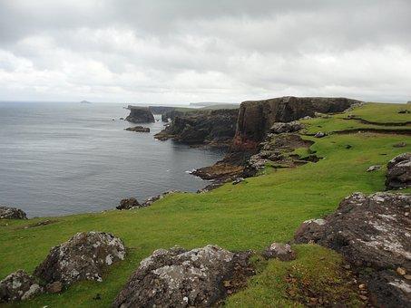 Shetland Islands, Eshaness, Sea, Coast, Rocky Coast