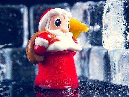 Father, Figurine, Santa, Claus, Figure, Christmas, Toy