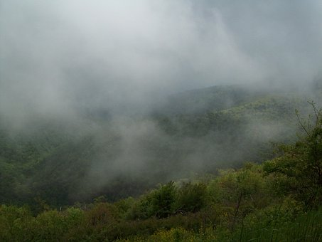 Mist, Mountain, Landscape, Fog, Nature, Outdoor, Park