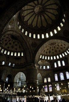 Mosque, Istanbul, Sofia, Hagia, Turkey, Architecture